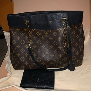 LV Pallas shopper tote and wallet set